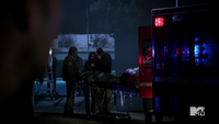 Teen Wolf Season 3 Episode 3 Fireflies pool murder scene victims parents