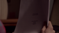 Teen Wolf Season 3 Episode 7 Currents Danny's Paper wrong dates