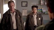 Teen Wolf Season 3 Episode 7 Currents Linden Ashby Mieko Hillman Sheriff Stilinski and Deputy Tara Graeme Vet is gone