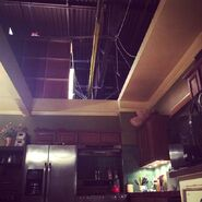 Teen Wolf Season 5 Behind the Scenes McCall Kitchen set 042715