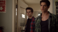 Teen Wolf Season 3 Episode 7 Currents Tyler Posey Dylan O'Brien Scott Stiles cat clinic