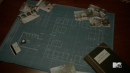 Teen Wolf Season 5 Episode 14 The Sword and the Spirit Eichen house layout