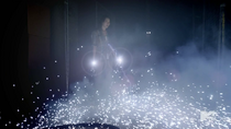 Teen Wolf Season 3 Episode 15 Galvanize Kira absorbs Electricity