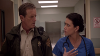 Teen Wolf Season 3 Episode 7 Currents Linden Ashby Melissa Ponzio Sheriff and Melissa McCall investigate