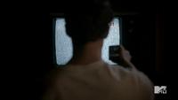 Teen Wolf Season 2 Episode 6 Motel California Daniel Sharman Isaac flipping channels