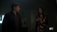 Teen Wolf Season 3 Episode 8 Visionary Gideon Emery Alicia Coppola Deucalion and Talia seek advice