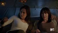 Teen Wolf Season 3 Episode 3 Fireflies Zelda Williams girlfriend campingl