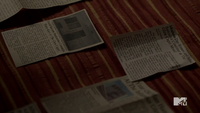 Teen Wolf Season 3 Episode 6 Motel California Suicide Clippings 2 and 3