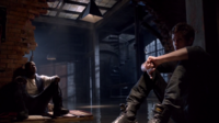 Teen Wolf Season 3 Episode 7 Currents Sinqua Walls Daniel Sharman Boyd and Isaac wait