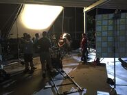 Teen Wolf Season 5 Behind the Scenes close up shooting pali high 021215