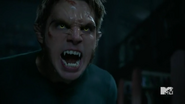 Teen Wolf Season 5 Episode 10 Status Asthmaticus Liam wolf form