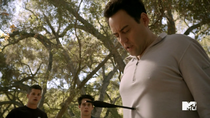 Teen Wolf Season 3 Episode 19 Letharia Vulpina Coach gets shot