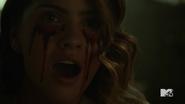 Teen Wolf Season 5 Episode 14 The Sword and the Spirit Malia bleeding