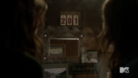 Teen Wolf Season 3 Episode 6 Motel California Holland Roden Crystal Reed Lydia Allison Suicide number changed