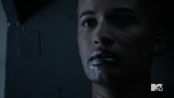 Teen Wolf Season 5 Episode 11 The Last Chimera Noah oozing Mercury.png