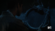 Teen Wolf Season 5 Episode 14 The Sword and the Spirit Snake eating its tail