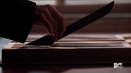 Teen Wolf Season 3 Episode 19 Letharia Vulpina Knife is a Tail