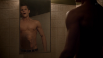 Teen Wolf Season 3 Episode 6 Motel California Charlie Carver Ethan face in belly