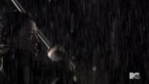 Teen Wolf Season 4 Episode 10 Monstrous Kira Fights rain