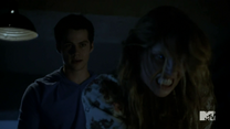 Teen Wolf Season 4 Episode 4 The Benefactor Stiles stays with Malia