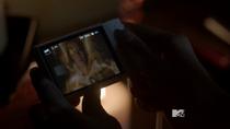 Teen Wolf Season 3 Episode 16 Illuminated Kira Phone Pic