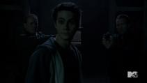 Teen Wolf Season 3 Episode 22 De Void Sheriff Stiles Argent against Oni