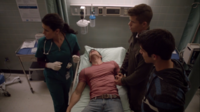 Teen Wolf Season 3 Episode 7 Currents Melissa Ponzio Keahu Kahuanui Charlie Carver Tyler Posey Danny Distress