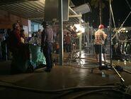 Teen Wolf Season 5 Behind the Scenes close up shooting pali high 2 021215