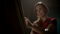 Teen Wolf Season 3 Episode 18 Riddled Holland Roden Lydia Reacts to naked Aiden