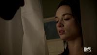 Teen Wolf Season 2 Episode 6 Motel California Tyler Posey Crystal Reed Scott McCall Allison Argent shower scene