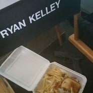 Teen Wolf Season 5 Behind the Scenes Ryan Kelley dinner and a gun 021715