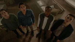 Dylan-Sprayberry-Tyler-Posey-Khylin-Rhambo-Michael-Johnston-Liam-Scott-Mason-Corey-Teen-Wolf-Season-6-Episode-4-Relics