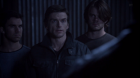 Teen Wolf Season 3 Episode 8 Visionary Gideon Emery Deucalion with pack