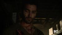 Teen Wolf Season 3 Episode 3 Fireflies Tyler Hoechlin Derek Hale covered in blood