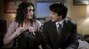 Teen Wolf Season 1 Episode 11 Formality Melissa Ponzio Tyler Posey Melissa McCall Scott McCall Women love words