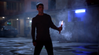 Teen Wolf Season 3 Episode 6 Motel California Tyler Posey Scott McCall with Flare