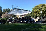 Teen Wolf Season 6 Behind the Scenes Pacific Pali high school location Jeep