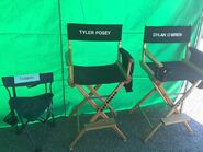 Teen Wolf Season 5 Behind the Scenes posey and obrien chairs Vasquez Rocks 091615