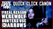Teen Wolf Mystery Why Teen Wolf Hunters Use Arrows