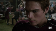 Teen Wolf Season 4 Episode 11 A Promise to the Dead Liam listens