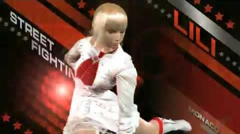 Tekken 6 - Lili Rochefort trailer