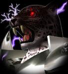 Armor King - Closeup - Face - Tekken Tag Tournament
