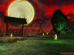 Hell-gate buddha-head