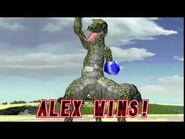 Tekken 2 - Alex (Win Poses)