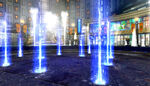 Electric-fountain lights