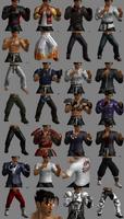 Tekken Tag Tournament 2 Jin Kazama Customization Items
