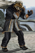 Tekken 5 - King II - 2P - Front