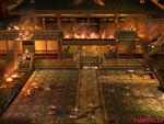 Burning-temple