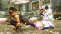 Hwoarang versus Marshall Law (2) (Tekken 6)