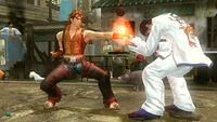 Hwoarang versus Marshall Law (3) (Tekken 6)